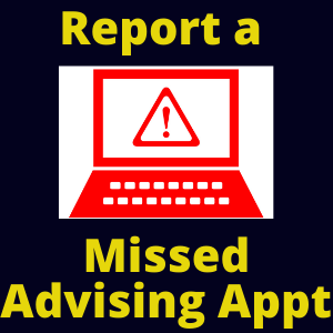 Missing Advising Appointment