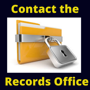 Records Office--Contact Us!