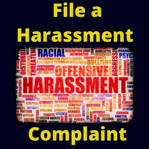 File a Harassment Complaint