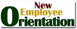 New Employee Orientation