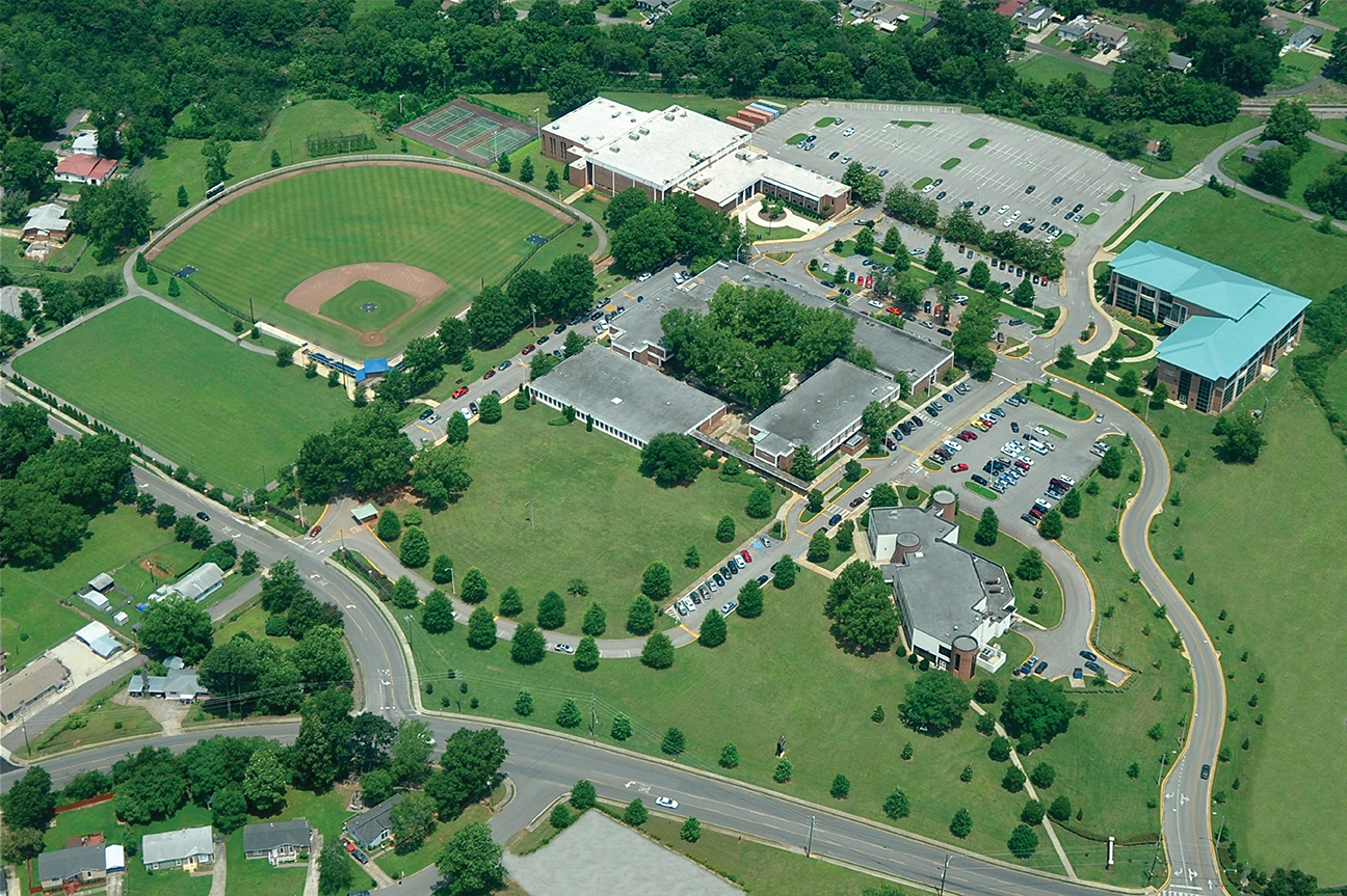 Picture: Lawson State Community College--Aerial View-West Campus