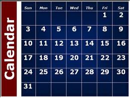 Calendar of Lawson State's Adult Education Class Schedule